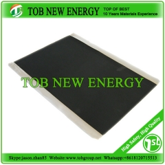 Carbon coated aluminium foil for